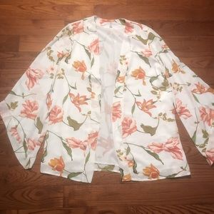 Fever floral light weight cardigan